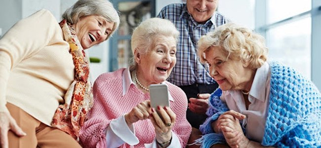 smartphone pour senior